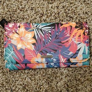 Roxy Tropical Print Wallet